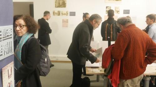 """Inauguration de l'exposition """"Faire avec l'exil"""" 12 octobre 2016"""